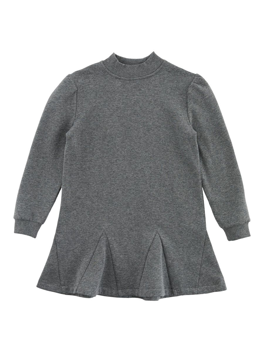 PIECES Sweater Kjole Kvinder Grå