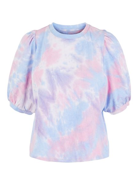 PCCOLOR PUFF SLEEVED TOP