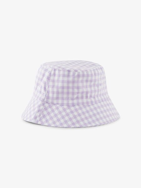 PCLAYA CHECKED BUCKET HAT