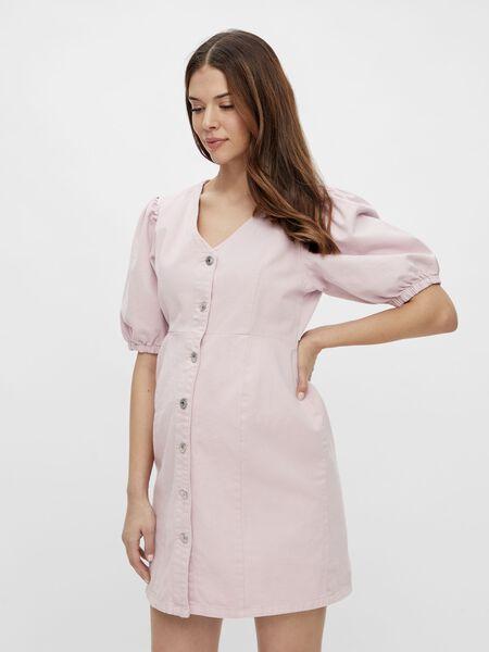 PCMGILI DENIM MATERNITY DRESS