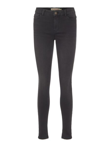SKINNY FIT MID-RISE JEANS