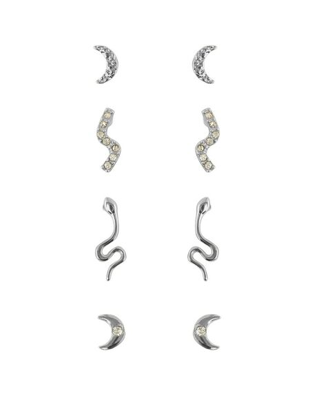4-PACK EARRINGS