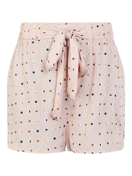 PRINTEDE HIGH WAIST SHORTS