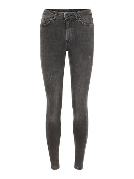 MID WAIST CROPPED JEANS
