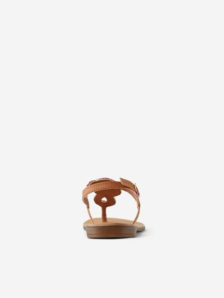 THIN-STRAP LEATHER SANDALS