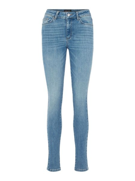 MID WAIST SLIM FIT JEANS