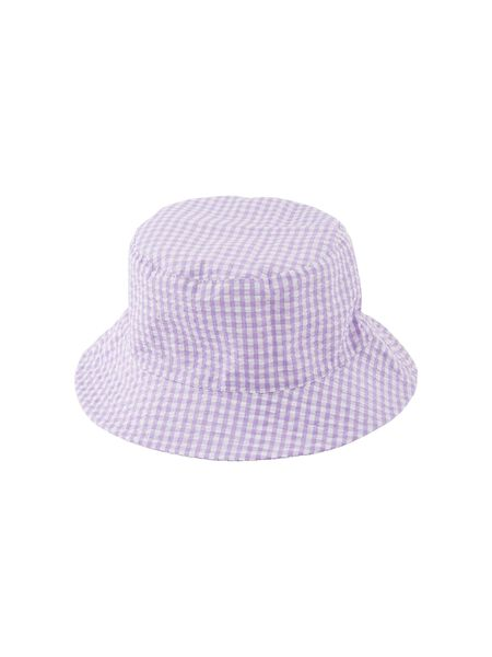 PCANYA CHECKED BUCKET HAT