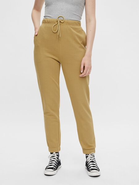 RELAXED FIT HIGH WAISTED SWEATPANTS