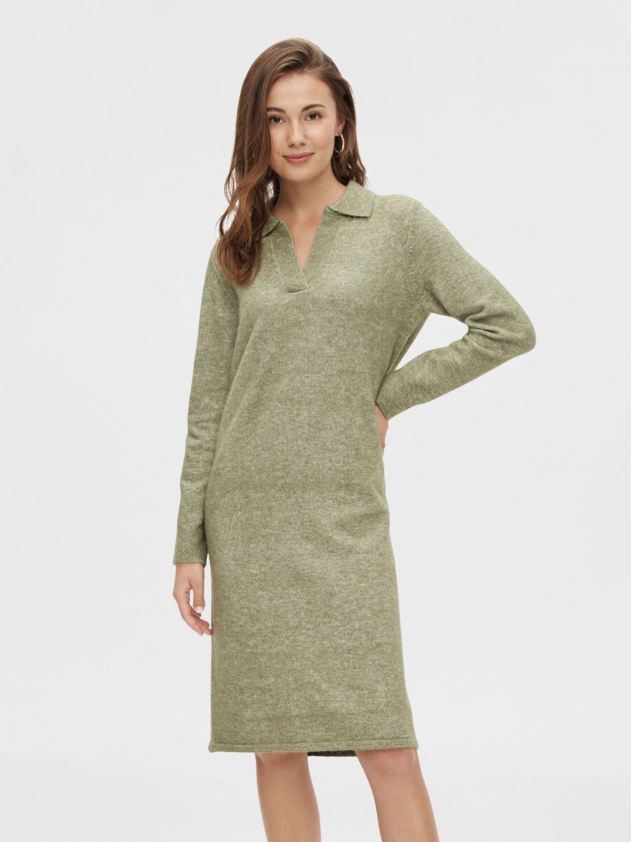 Pieces PCFLAVIA DRESS, Deep Lichen Green, highres - 17115879_DeepLichenGreen_003.jpg