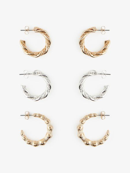 3-PACK EARRINGS