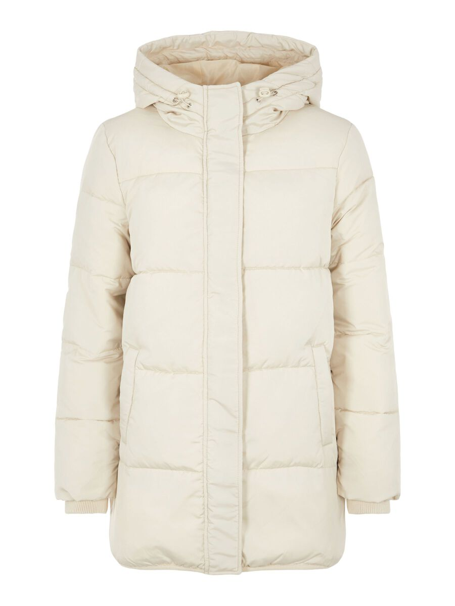 QUILTED DOWN JACKET, Fog, highres