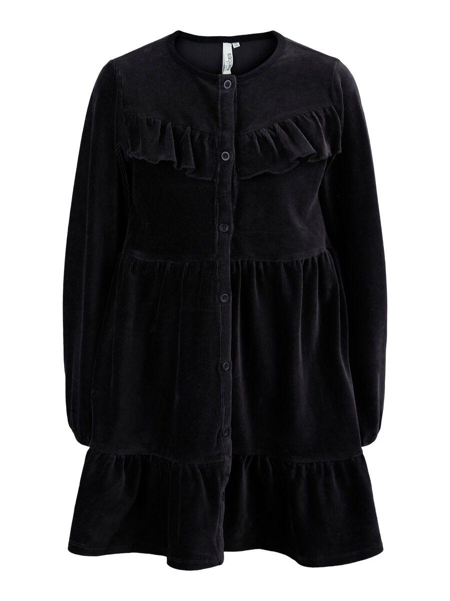 Pieces LPRICE DRESS, Black, highres - 17118720_Black_001.jpg