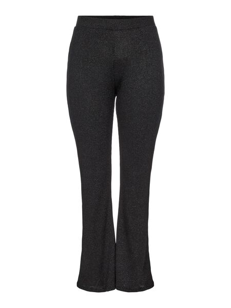 CURVE FLARED TROUSERS