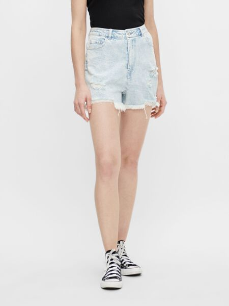 PCLAYA DENIM SHORTS