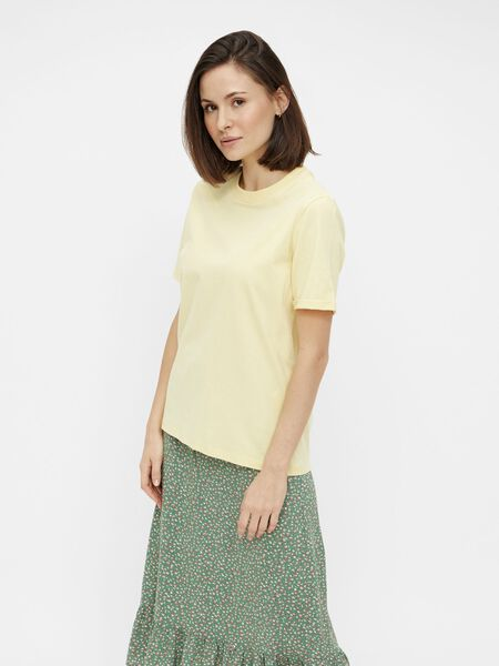 SOLID-COLOURED T-SHIRT