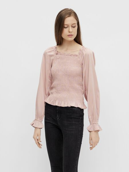PCLAOISE SMOCK BLOUSE