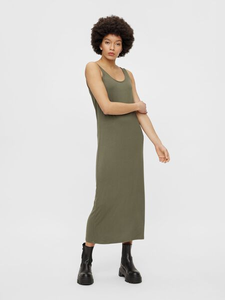 ANKLE LENGTH SLEEVELESS DRESS