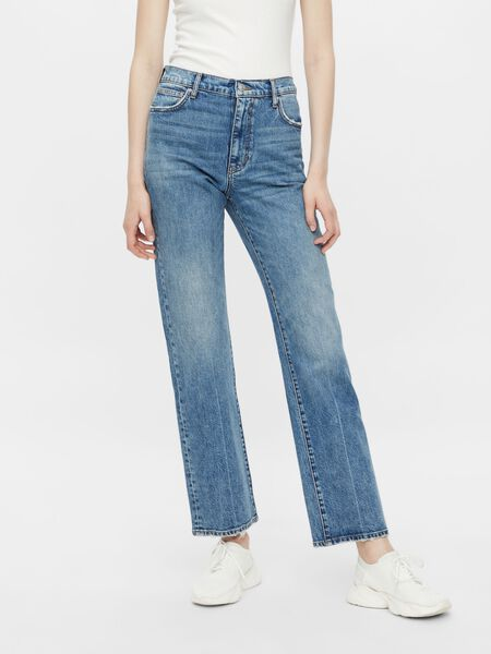PCELAN STRAIGHT FIT JEANS