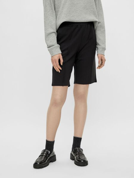 PINTUCK DETAIL BERMUDA SHORTS