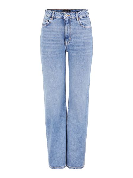 PCHOLLY HIGH WAISTED JEANS