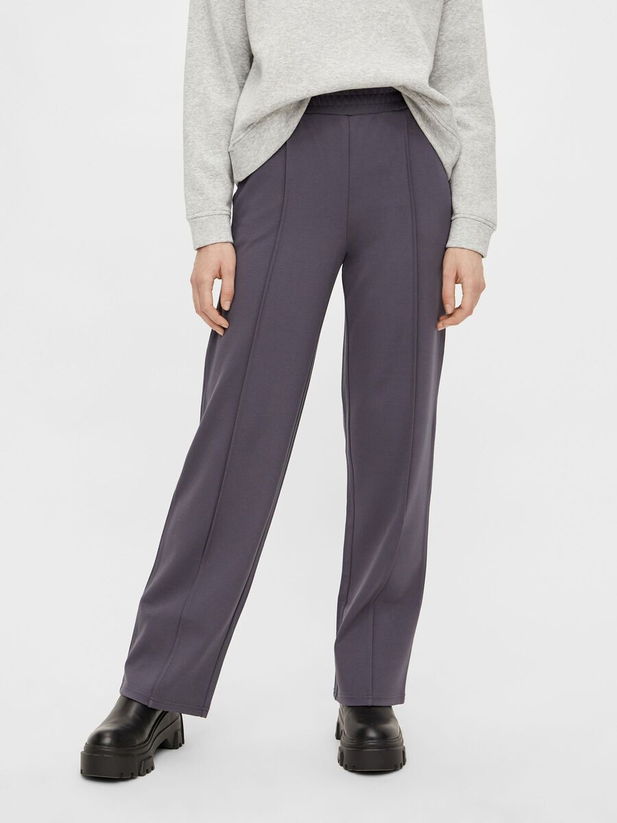 Pieces PCKLARA TROUSERS, Ombre Blue, highres - 17100982_OmbreBlue_003.jpg