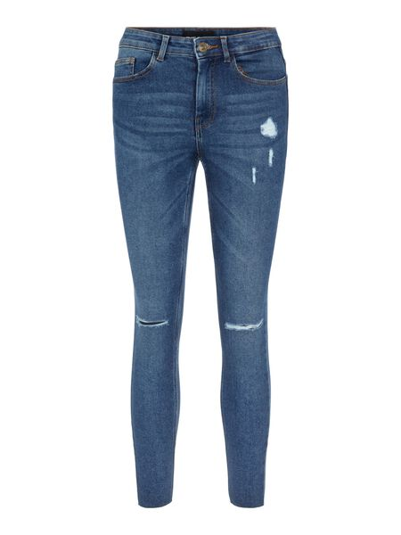 MID WAISTED SLIM FIT JEANS