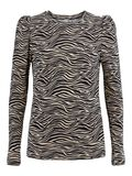 Pieces LPMULIA LONG SLEEVED TOP, White Pepper, highres - 17118689_WhitePepper_902520_001.jpg