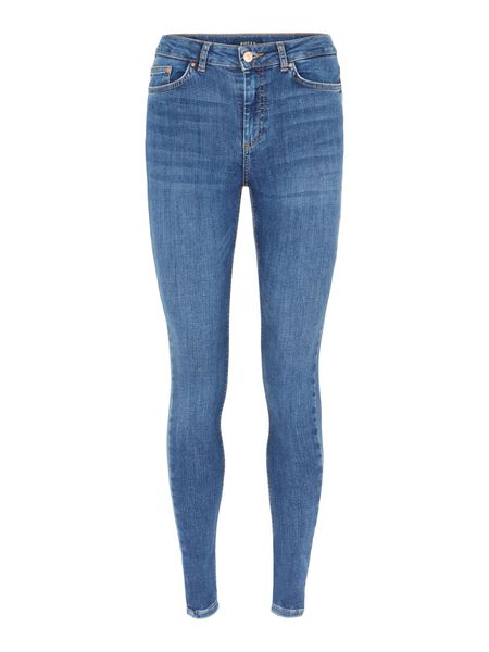 MID-WAIST SLIM FIT JEANS